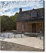 Old House At Bill Baggs Acrylic Print by Eyzen M Kim