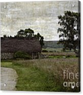 Old House In Culloden Battlefield Acrylic Print