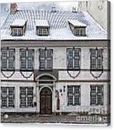 Old House In Riga Acrylic Print