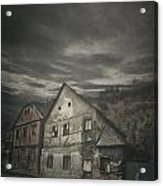 Old House Acrylic Print by Jelena Jovanovic