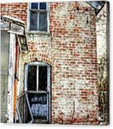 Old House Two Windows 13104 Acrylic Print