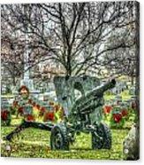 Old Howitzer Acrylic Print