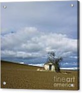 Old Hut. Auvergne. France Acrylic Print by Bernard Jaubert
