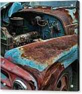 Old International Hood And Fender  Hdroc4224-13 Acrylic Print