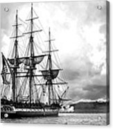 Old Ironsides Acrylic Print by Peter Chilelli