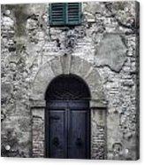 Old Italian House Acrylic Print