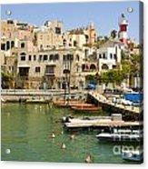 Old Jaffa Port Acrylic Print