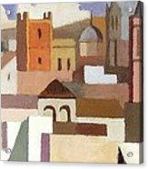 Old Jerusalem Acrylic Print