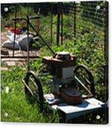 Vintage Lawn Mower Acrylic Print