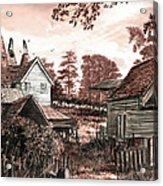 Old Kentish Oasts Acrylic Print