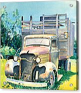 Old Kula Truck Acrylic Print
