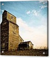Old Lepine Elevator Acrylic Print by Gerald Murray Photography