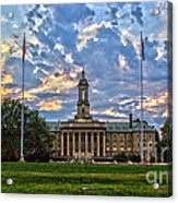 Old Main At Sunset Acrylic Print
