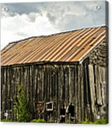 Old Maine Barn Acrylic Print