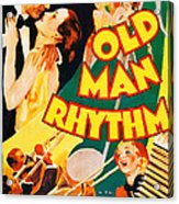 Old Man Rhythm, Us Poster, From Top Acrylic Print