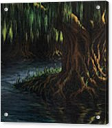 Old Man Willow Acrylic Print