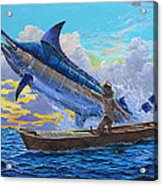 Old Man And The Sea Off00133 Acrylic Print