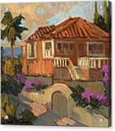 Old Mansion Costa Del Sol Acrylic Print