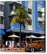 Old Miami Acrylic Print