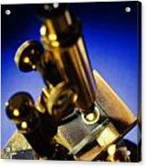 Old Microscope Acrylic Print