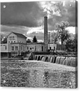 Old Mill And Banquet Hall Acrylic Print