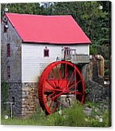 Old Mill Of Guilford Acrylic Print