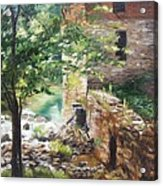Old Mill Stream I Acrylic Print