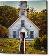 Old Mission Point Light House 02 Acrylic Print