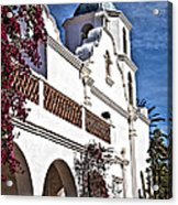 Old Mission San Luis Rey - California Acrylic Print