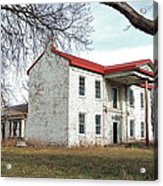 Old Missouri Mansion Acrylic Print