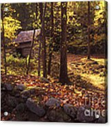 Old Mountain Shed Acrylic Print by Paul W Faust -  Impressions of Light