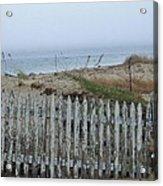 Old Nantucket Fence Acrylic Print