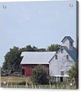 Old Nebraska Farm Acrylic Print