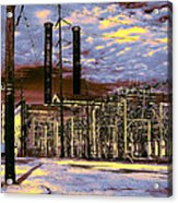 Old New Orleans Electric Plant Acrylic Print