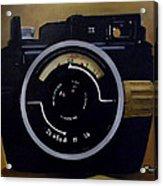 Old Nikon Acrylic Print