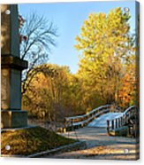 Old North Bridge Acrylic Print by Brian Jannsen
