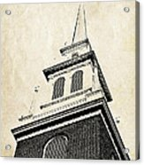 Old North Church In Boston Acrylic Print