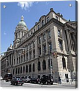 Old Nypd Headquarters Acrylic Print