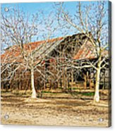 Old Orchard Barn Acrylic Print