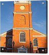 Old Otterbein United Methodist Church Entry Acrylic Print