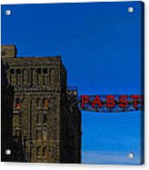 Old Pabst Brewery Acrylic Print
