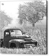 Old Pick Up Truck Acrylic Print