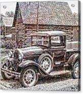 Old Pickup Truck Acrylic Print