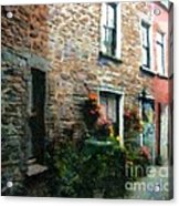 Old Pinchpenny Lane Acrylic Print