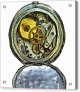 Old Pocket Watch Acrylic Print