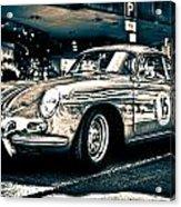 Old Porsche No.3 Toned Acrylic Print