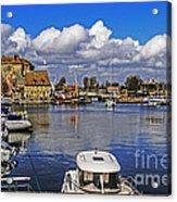 Old Port Holiday Acrylic Print