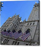 The Old Post Office Or Trump Tower Acrylic Print