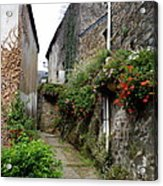 Old Quarter Of La Roche Bernard Acrylic Print