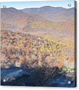 Old Rag Hiking Trail - 121231 Acrylic Print by DC Photographer